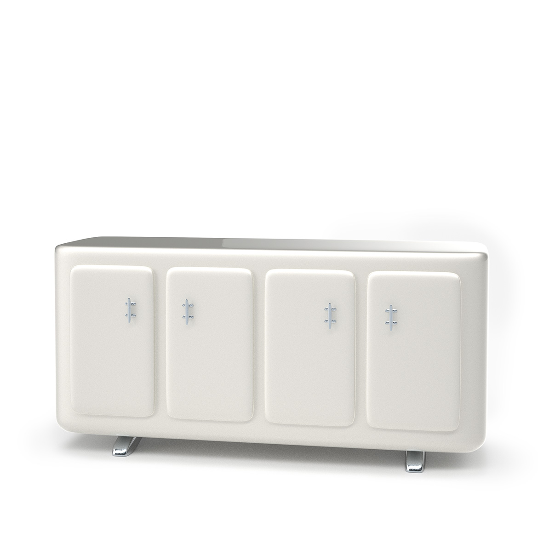 Omega cabinet whitecolor