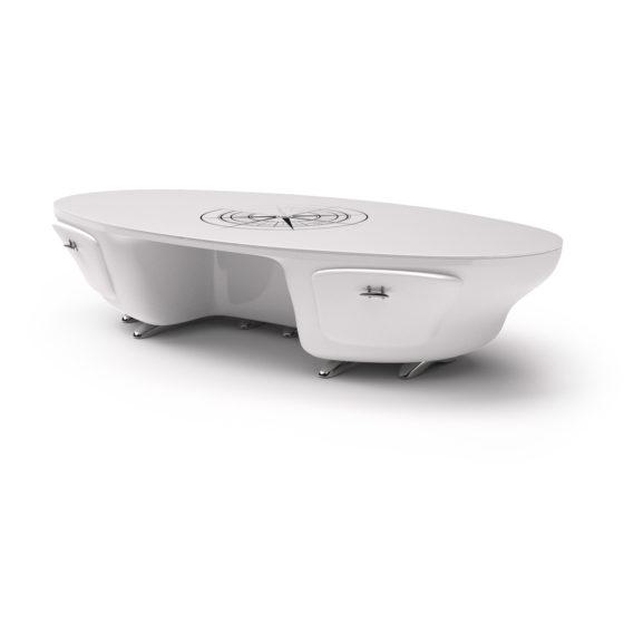 Omega desk white