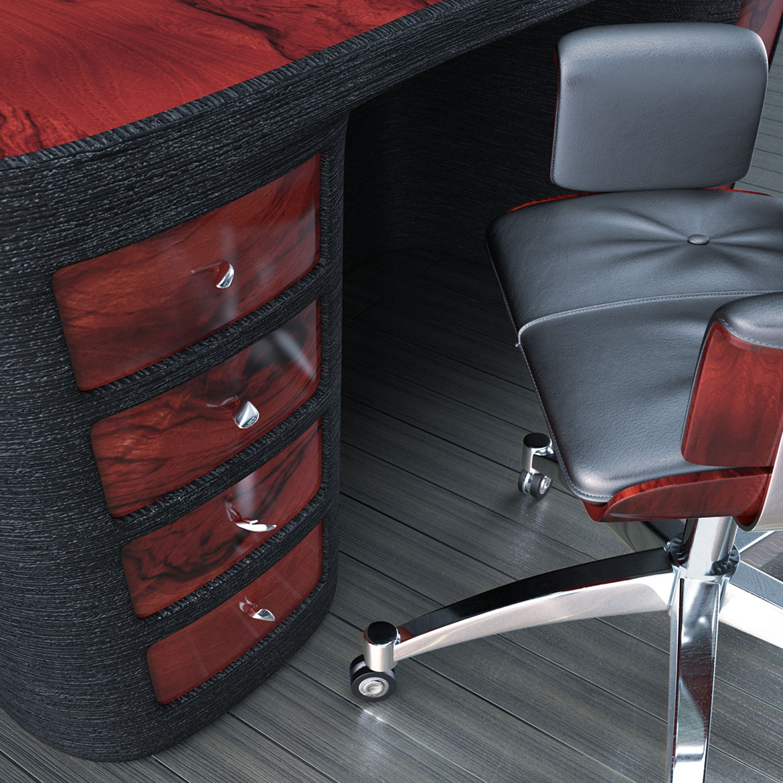 Redwood-wizualizacja biurka i fotela small