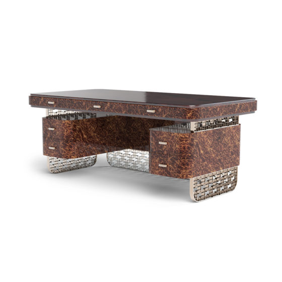 Fifth Avenue Elegance desk back