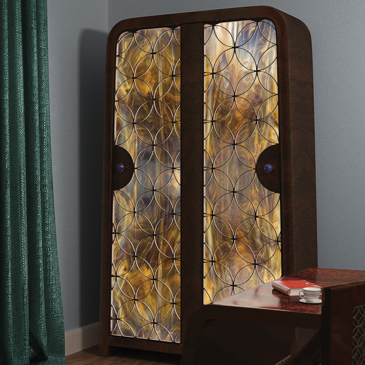 Marrakech Classic wardrobe with LEDs