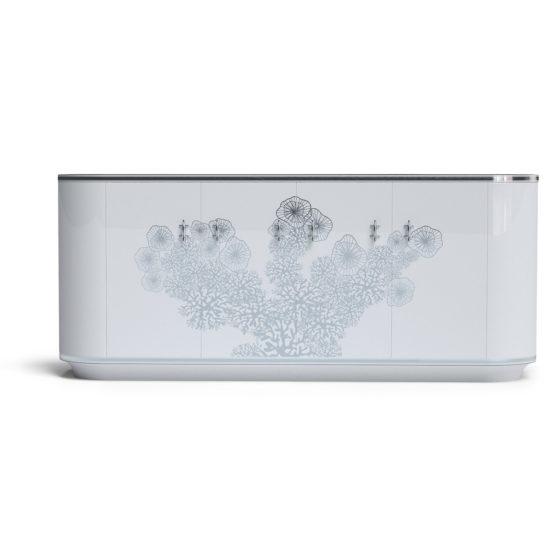 White Pearl Classic cabinet small