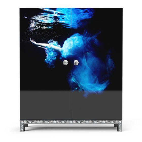 Blue Siren wardrobe front view