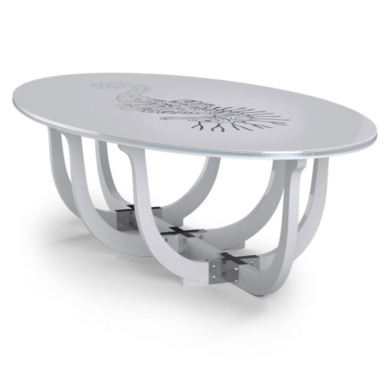 White Pearl Classic table