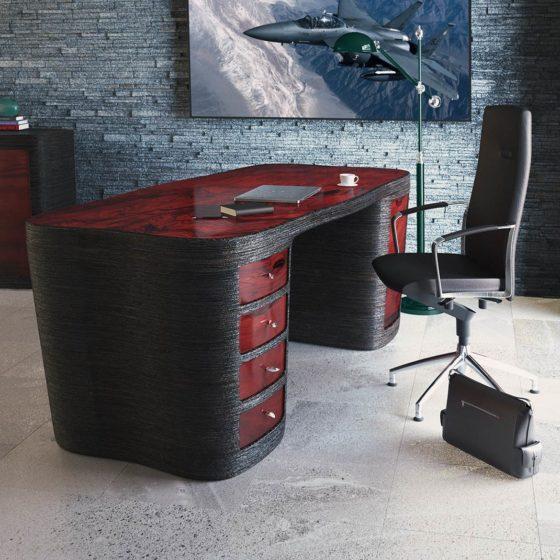 Exclusive desk Redwood