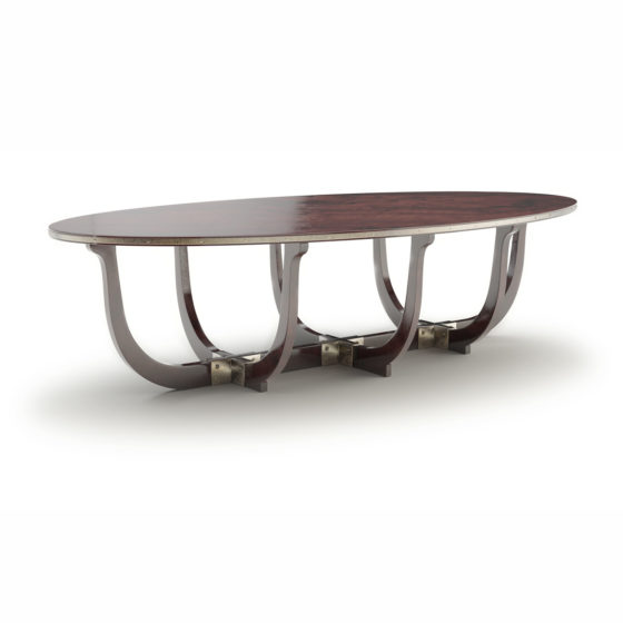 Design of exclusive table Pinta is inspired by fastest of the three ships used by Christopher Columbus in his first transatlantic voyage in 1492.